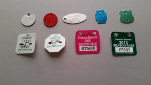 Evanston Beach Tokens