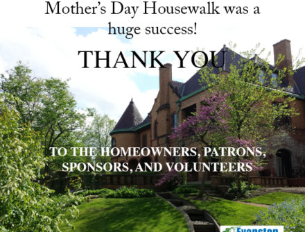 Thank You for Another Great Mother's Day House Walk!