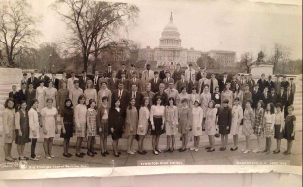 ETHS students in DC the day MLK was assassinated